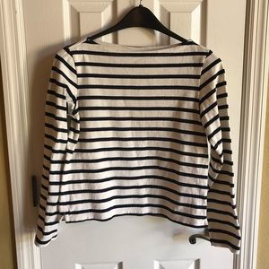 Uniqlo XS striped long sleeve top
